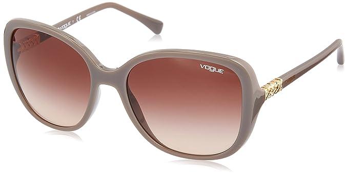 Vogue 0Vo5154Sb Gafas de sol, Turtledove, 56 para Mujer ...