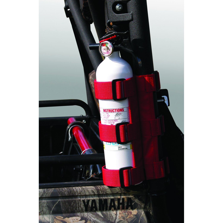 Rugged Ridge 63305.20 Red ATV/UTV Fire Extinguisher Holder