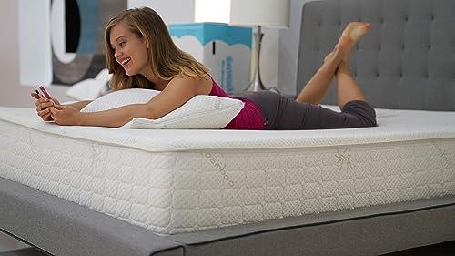 Snuggle-Pedic Original Ultra-Luxury Hybrid Mattress That Breathe