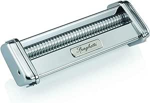 Marcato 8328 Spaghetti Cutter Attachment, Made in Italy, Works with Atlas 150 Pasta Machine, 7 x 2.75
