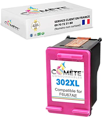 1 cartucho de tinta HP 302XL 302 XL para HP Deskjet 1110 2130 3630 3632 3633 3636 3637 Envy 4520 4522 4525 4527 Officejet 3830 3831 3833 4650 4655 (1 colores): Amazon.es: Electrónica