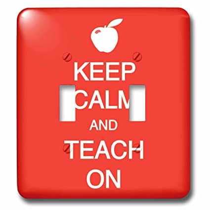 EvaDane - Funny Quotes - Keep calm and teach on - Light ...