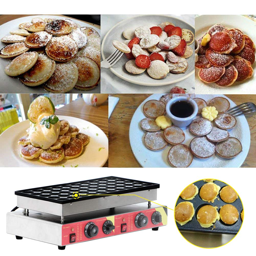Muffin Making Machine Commercial Electric Non Stick Muffin Machine 50 Pieces Muffin Equipment for Home Cake Shop Restaurant 110V 1600W by CARIHOME (Image #5)