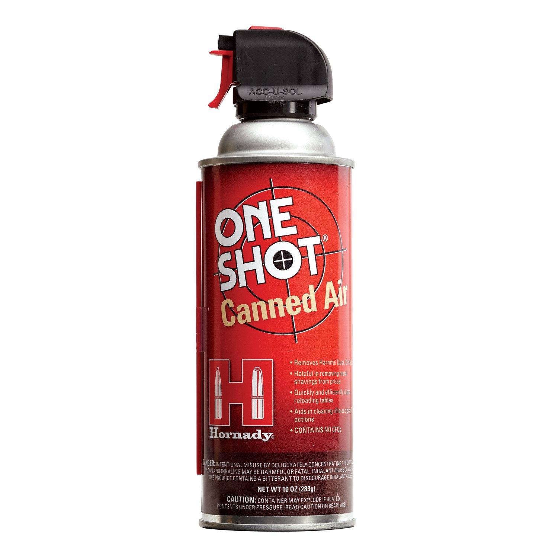 Hornady 99900 One Shot Canned Air (10 fl oz) by Hornady