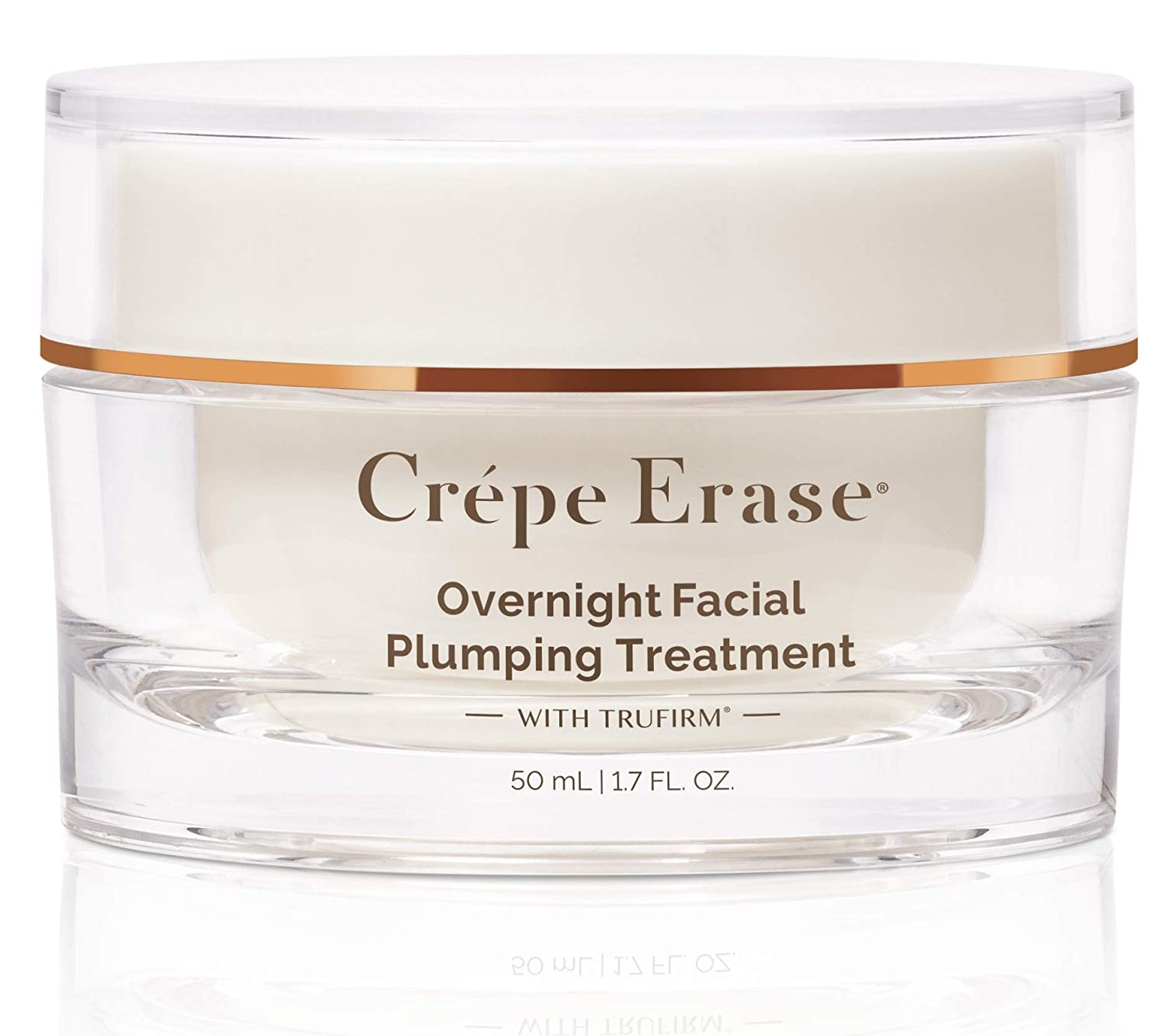 Crépe Erase Advanced – Overnight Plumping Facial Treatment with TruFirm Complex & 9 Super Hydrators – 1.7 Ounces