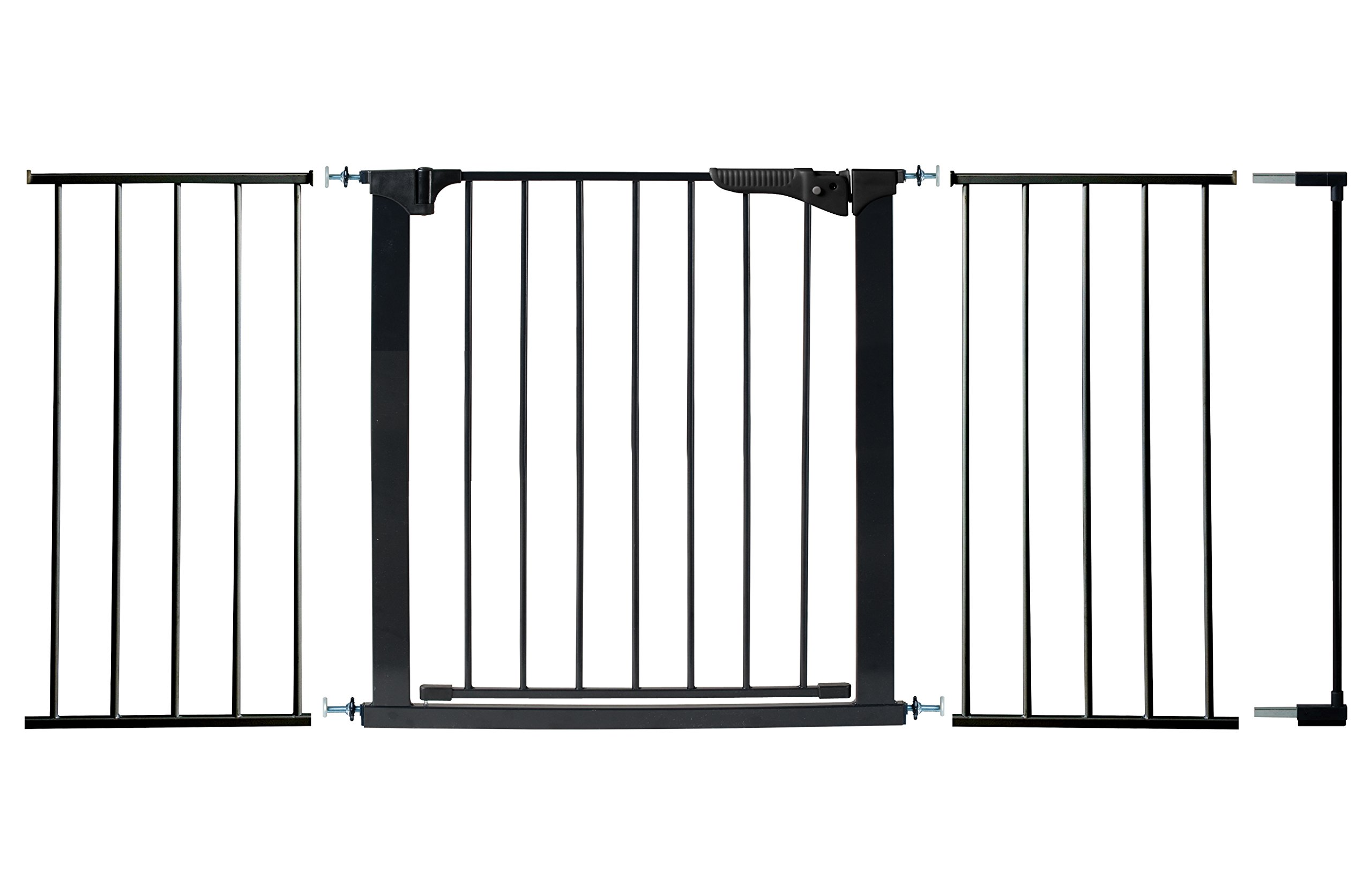 KidCo Gateway Gate, Black - Fits Openings 62'' – 68''