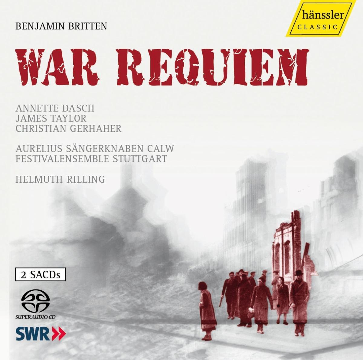 SACD : Helmuth Rilling - War Requiem (2PC)