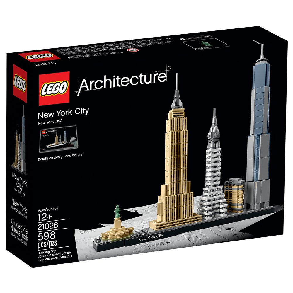 LEGO architecture building blocks