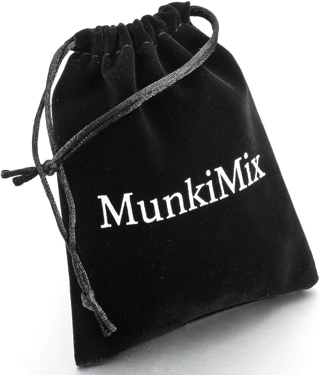 MunkiMix 8mm C/éramique Anneau Bague Comfort Fit Bague Noir Rouge Mariage Poli Unique Homme