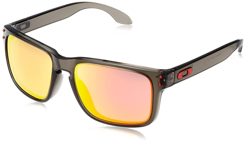 Amazon.com: Oakley Men\'s Holbrook Rectangular Sunglasses, Grey Smoke ...