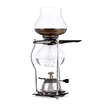 Yama Glass YAMCNT5 Tabletop With Ceramic Base Siphon Coffee Maker