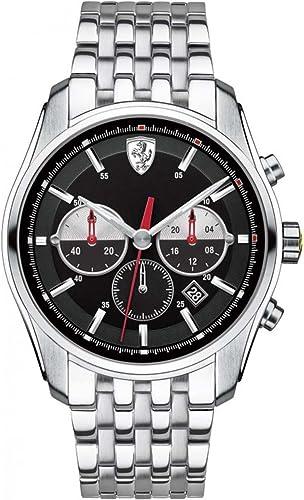 Scuderia Ferrari Watches Men S 0830197 Gtb C Chronograph Watch Amazon De Uhren