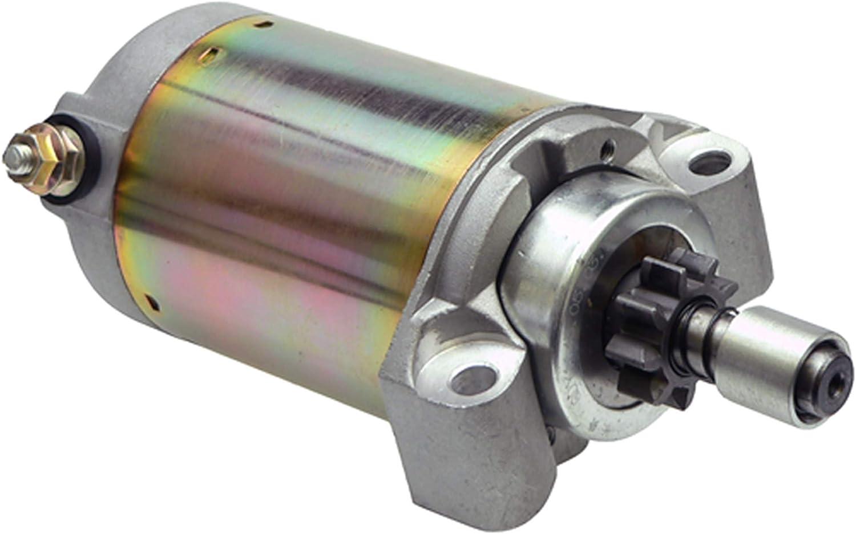 DB Electrical SND0006 Arrancador para John Deere GX75 RX75 SRX75 SX75 130 /Kawasaki Varios Modelos/Toro 222-5 Tractor/AM102628 /21163-2068/128000-2760