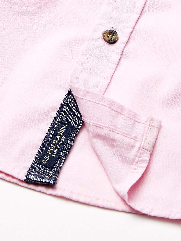 Boys 3 Piece Short Sleeve Woven Shirt Polo Assn Henley and Jean Set U.S