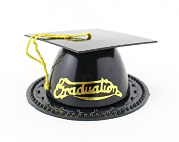 Black Graduation Hat Cap Party Favor Box 35 Inch
