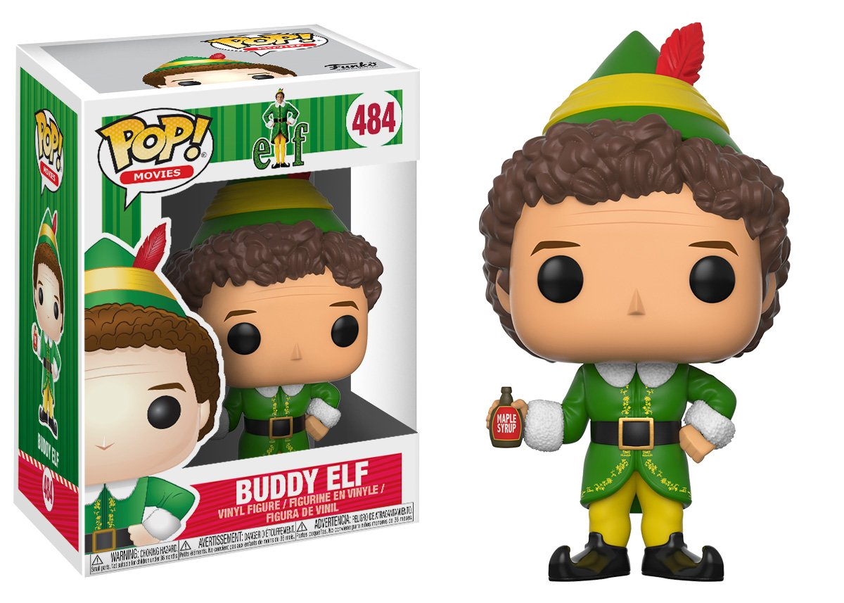 Buddy Movies: 21380 Accessory Toys /& Games Funko Pop Movies: Elf Collectible Vinyl Figure Funko Pop Styles May Vary