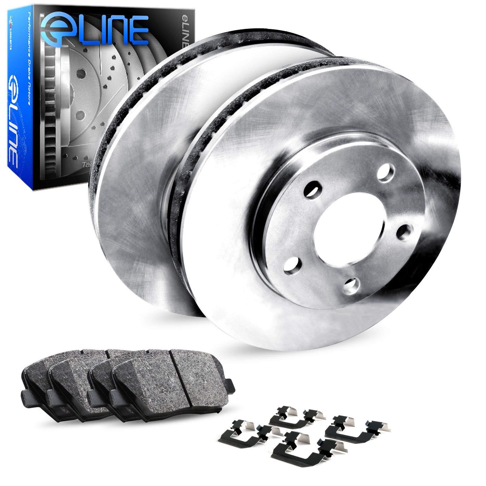 Prime Choice Auto Parts SCD1012-PR64113RL Pair of Performance Rotors and Premium Ceramic Brake Pads