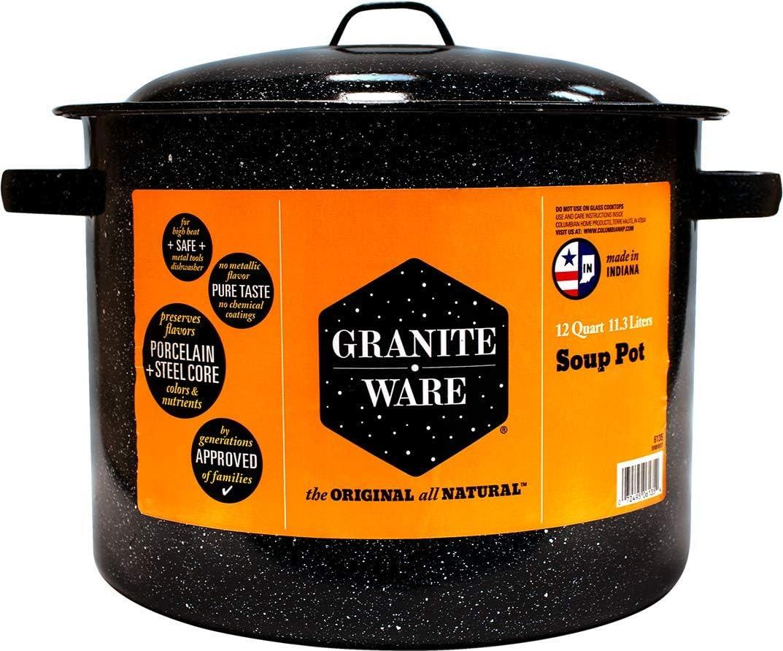 Graniteware 6135-6 - Olla de cocina (12 L, 11.36 literes): Amazon.es: Hogar