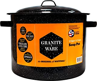product image for Granite Ware 12-Quart Soup Pot