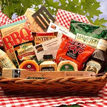 Master Of The Grill Barbeque Gift Basket: Amazon.com: Grocery ...