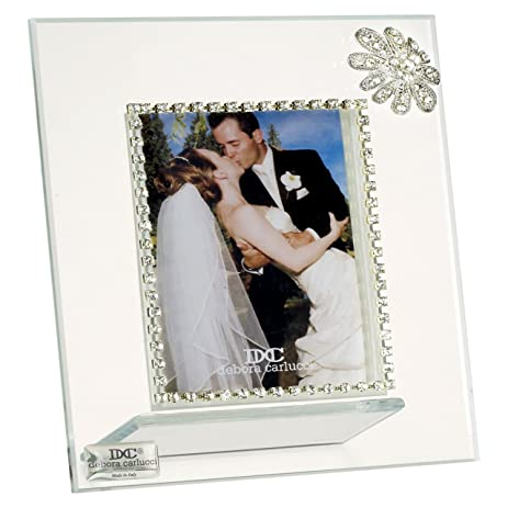 Amazon.com - 5th Avenue Collection Italian Glass Picture Frame with ...
