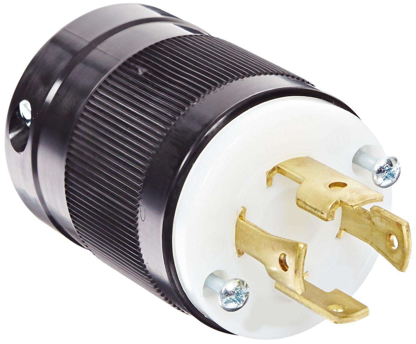 Marinco 3014P 30 Amp, 125 Volt/250 Volt, Plug, Locking