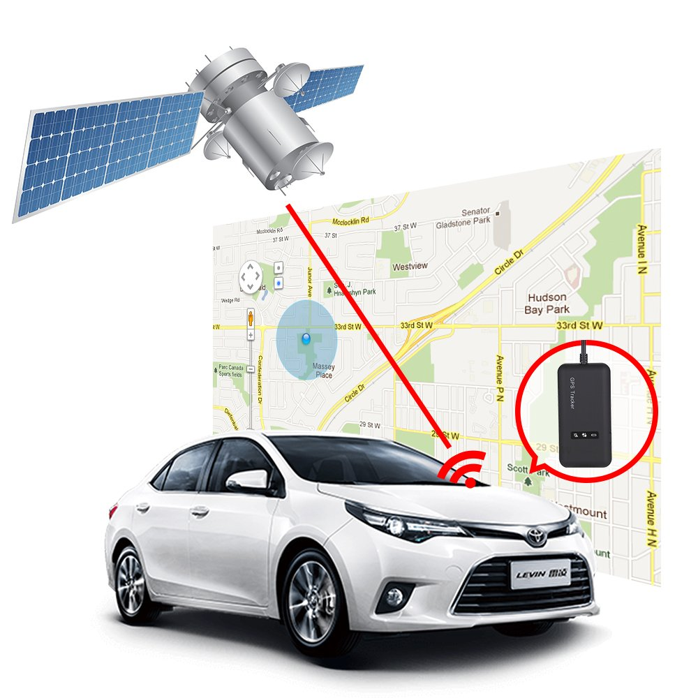vehicle gps tracker real time locator gps gsm gprs sms tracking