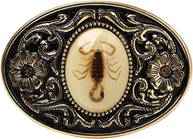 3D Scorpion Western Metal Rodeo Belt Buckle for Cowboy Cowgirl