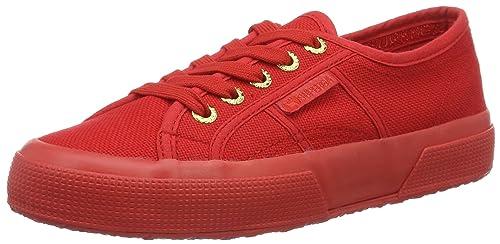 Superga 2750 Cotu Classic S000010, Sneakers Unisex - Adulto, Verde (Total Intense Green A03), 35.5 EU (3 UK)