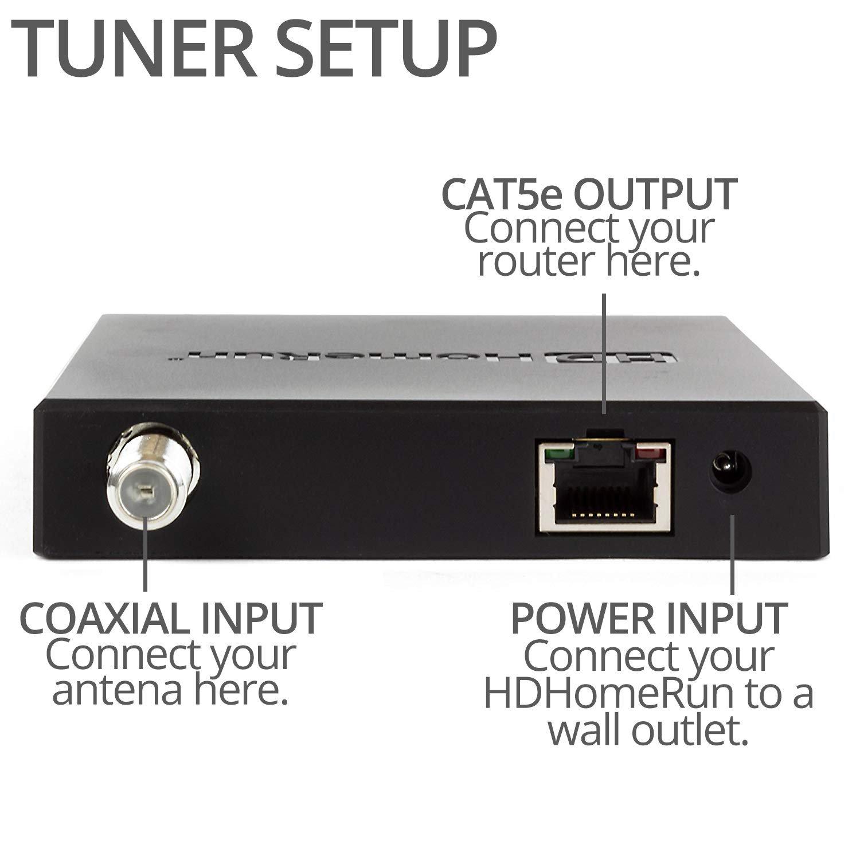 SiliconDust HDHomeRun Extend Free Broadcast HDTV (2-Tuner) Bundled
