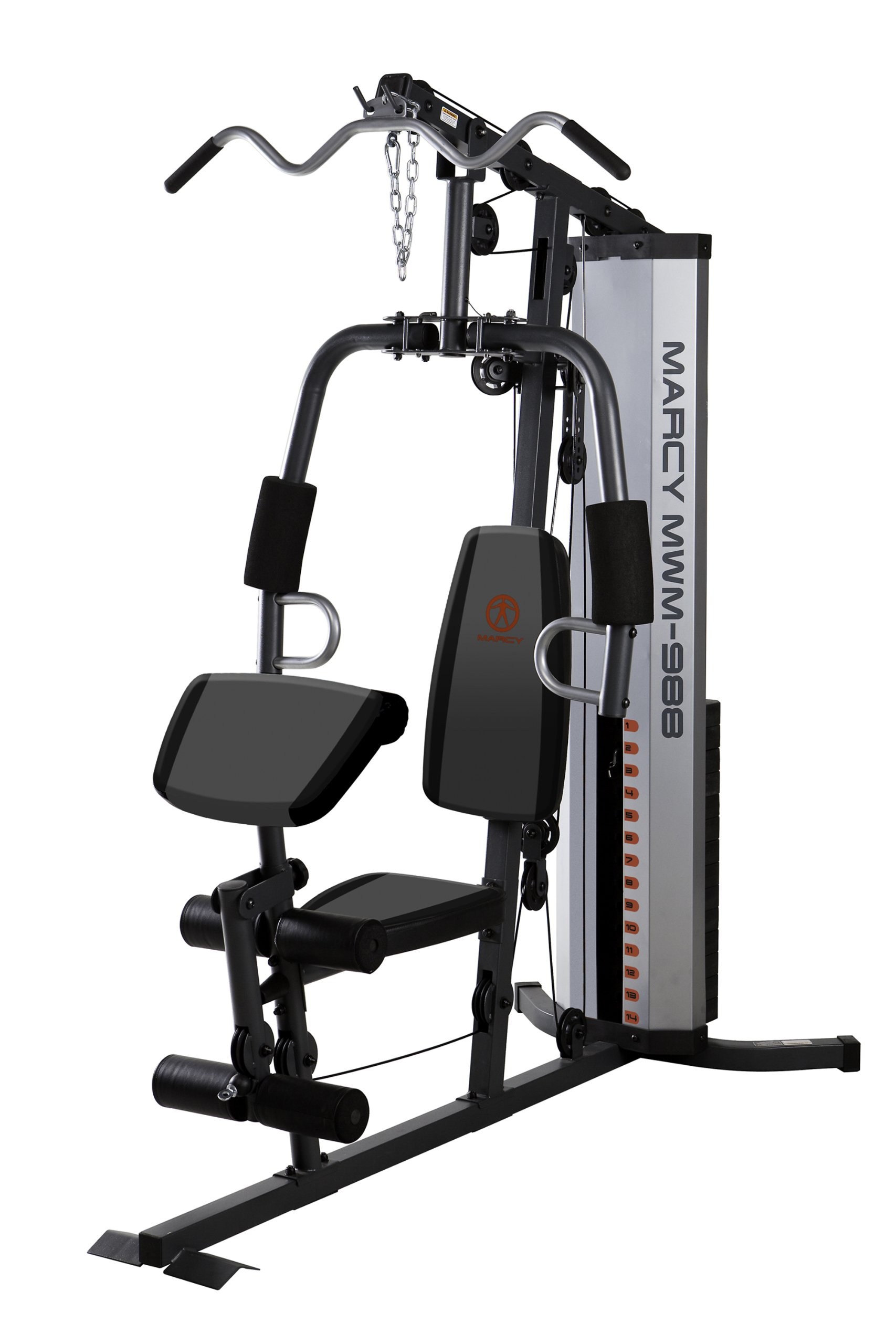 Marcy Multifunction Steel Home Gym 150lb Stack MWM-988 by Marcy (Image #2)