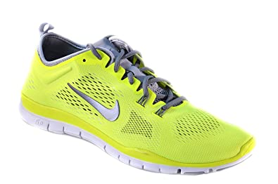 Nike Womens Free 5.2 TR Fit 4 Training Shoes Size 11, Volt, Cool Grey