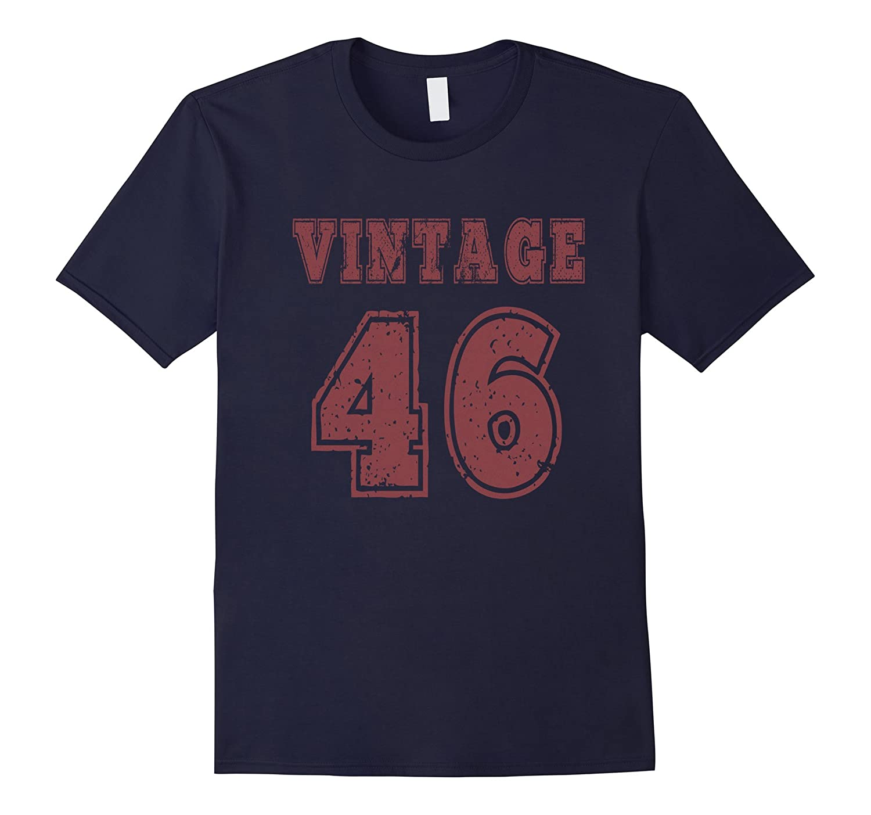1946 Vintage Birthday Gift T-shirt For Men Women-TH