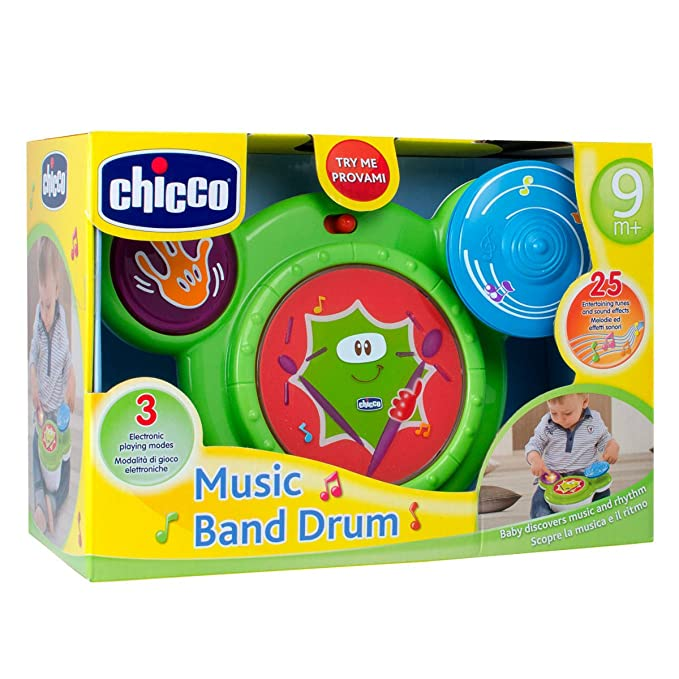Musical Première Music Batterie Chicco Ma Jouet Band Drum 80wNnvymO