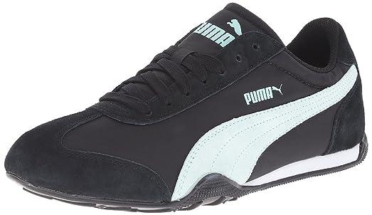 Puma 76 Runner Fun Womens Shoes Sneakers Size US 6.5 Black/Fair Aqua 359715  04