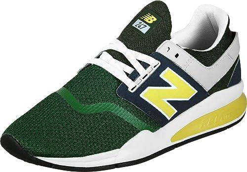 New Balance Herren 247 Grün/Marine Sport Sneakers