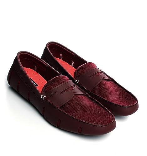 856943fd Swims - Mocasines para hombre, color rojo, talla 8 UK: Amazon.es: Zapatos y  complementos
