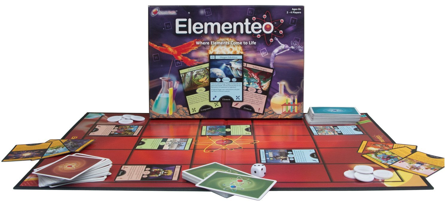 Amazon elementeo chemistry card game 2nd edition create amazon elementeo chemistry card game 2nd edition create compounds win electrons and explore the periodic table learning game for kids gamestrikefo Images