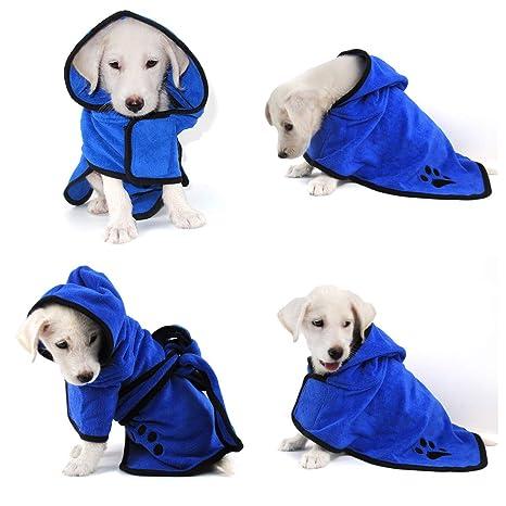 EEM Lujosa Almohada Suave para Mascotas Toalla, 100% Manta para duchas de Microfibra Toalla
