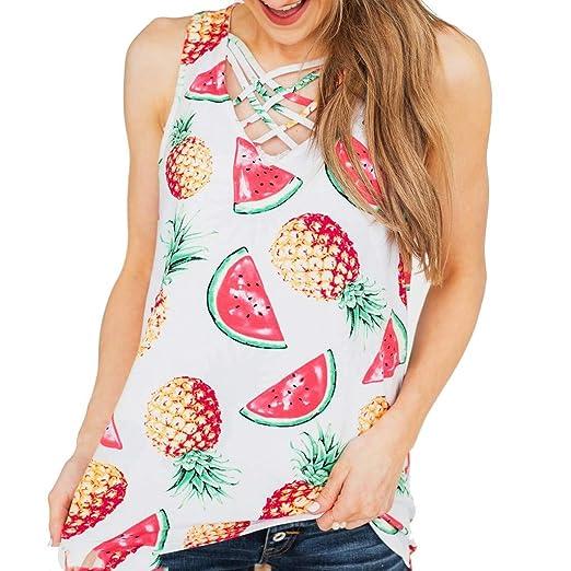 Amazon.com  Summer Sleeveless Tank Tops for Women
