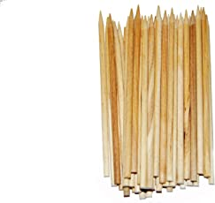 """Perfect Stix Pointed Candy Apple Stick/ Wooden Skewer 5.5"""" Length ( pack of 100)"""