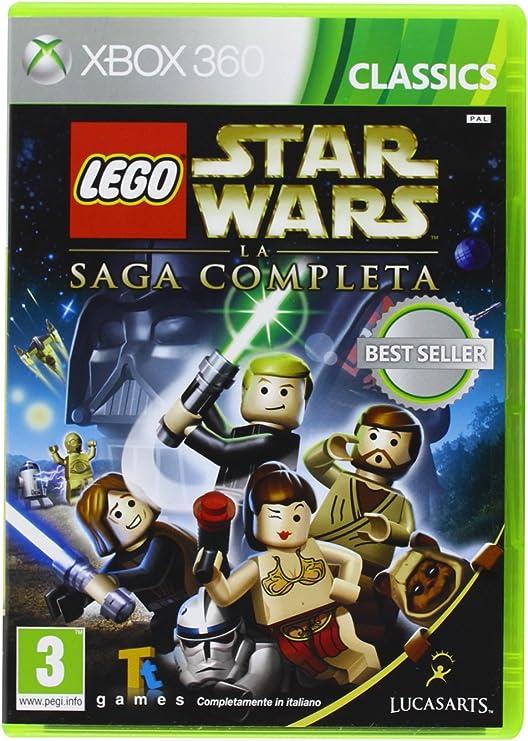 Lego Star Wars: La Saga Completa Cls [Importación Italiana]: Amazon.es: Videojuegos