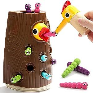 Nene Toys - Juguete Educativo para Niños y Niñas de 2 3 4 años - Juego Infantil Magnetico con Colores Que Desarrolla Habilidades Cognitivas, Físicas y Emocionales en Bebes y Niños de Edad Preescolar