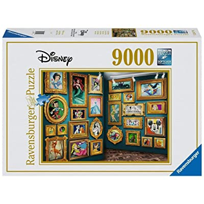 Ravensburger 14973 Disney Museum 9000pc Jigsaw Puzzle: Toys & Games
