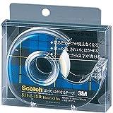 3M スリーエム スコッチ はがせるテープ ディスペンサー付 18mm×15m 芯25mm 811-1-18D