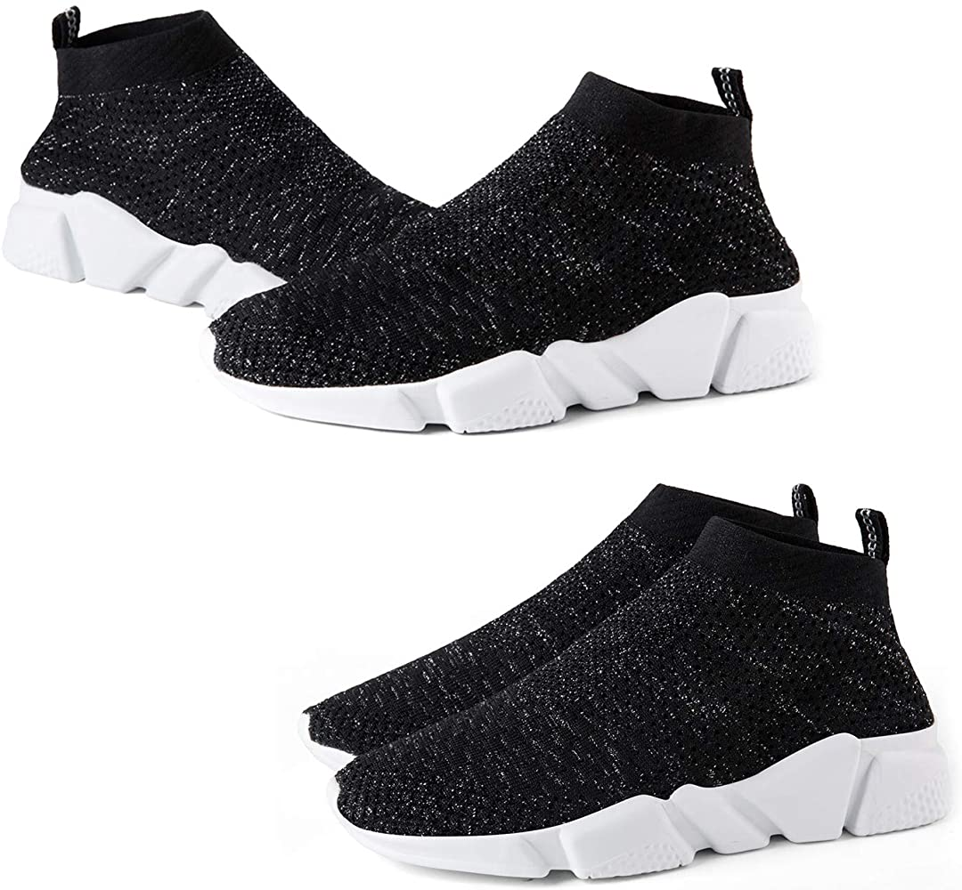 Mens Running Lovely Marshmallows Shoes Fashion Breathable Sneakers Mesh Soft Sole Casual Athletic Lightweight