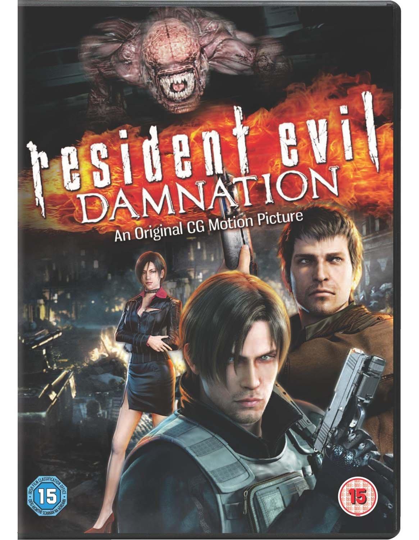 Amazon Com Resident Evil Damnation Import Anglais Movies Tv