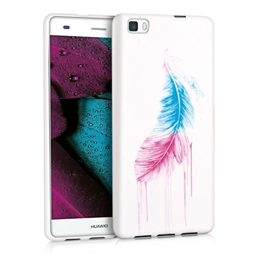 123 opinioni per kwmobile Cover per Huawei P8 Lite (2015)- Custodia in silicone TPU- Back case
