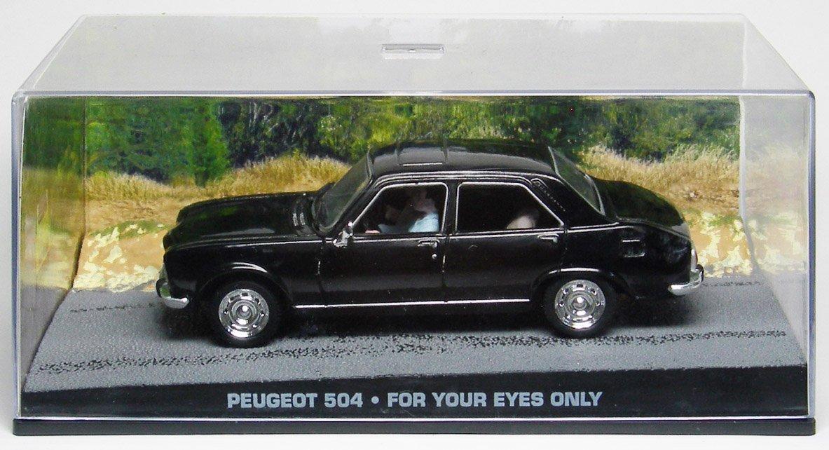 1/43 007 ボンドカー Peugeot 504 ユアアイズオンリー B00339CDV4