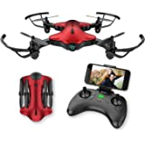 Drone for Kids, Spacekey FPV Wi-Fi Drone with Camera 720P HD, Real-time Video Feed, Great Drone for Beginners…